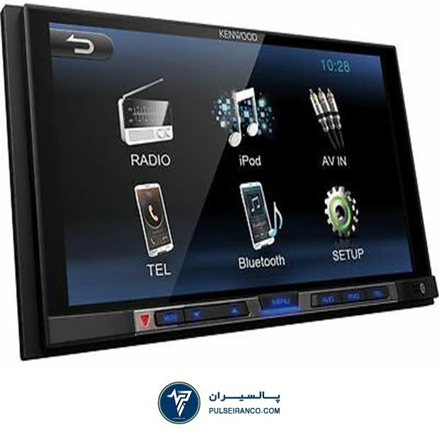 پخش دو دین کنوود 100 - Kenwood DMX-100BT Car stereo