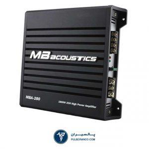 آمپلی فایر ام بی آکوستیکس 280 - MB Acoustics MBA-280 amplifier