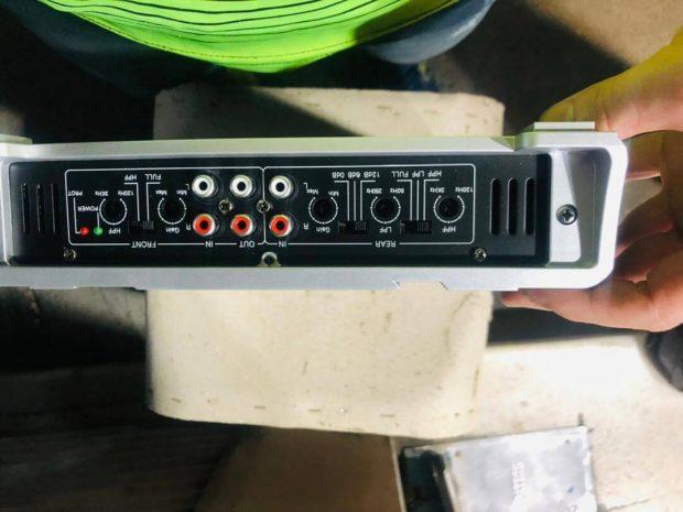 آمپلی فایر الفاسونیک Alphasonik PSW 5300 Amplifier
